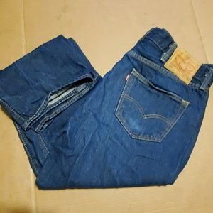 Levi's 501 Button Fly Jean's 38×30